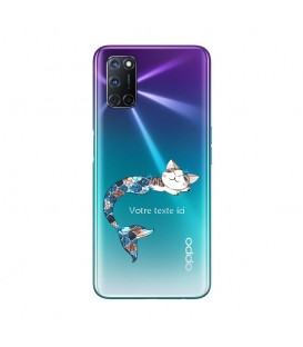 Coque OPPO A72 Chat sirene personnalisee