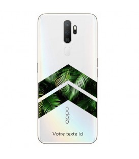 Coque OPPO A5 A9 2020 chevron jungle personnalisee