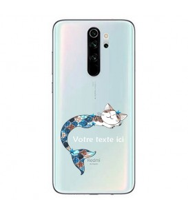 Coque Redmi Note 8 PRO Chat sirene personnalisee