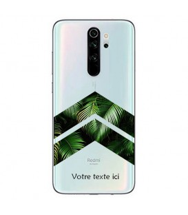 Coque Redmi Note 8 PRO chevron jungle personnalisee