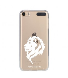 Coque Ipod Touch 5 6 lion blanc personnalisee