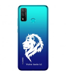 Coque Honor 9X P Smart Z lion blanc personnalisee