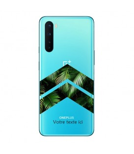Coque OnePlus NORD chevron jungle personnalisee