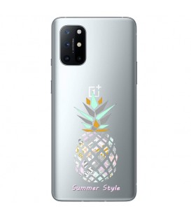 Coque OnePlus 8T ananas aztec tropical exotique