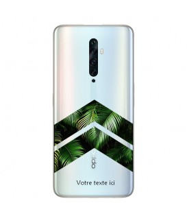 Coque OPPO RENO 2Z chevron jungle personnalisee