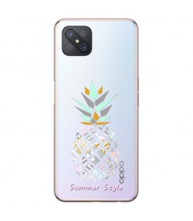 Coque Reno 4Z ananas aztec tropical exotique