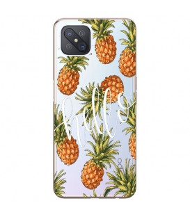Coque Reno 4Z Ananas hello tropical Exotique