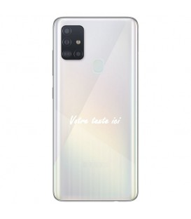 Coque OPPO A53 A53S texte blanc personnalisee